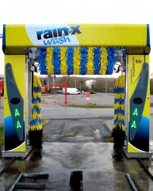 PORTIQUES DE LAVAGE  Tourisme - Utilitaire RAIN-X WASH