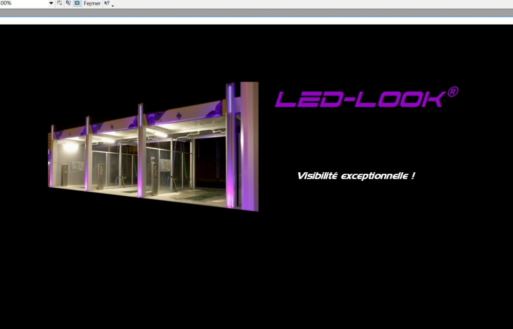 LED-LOOK: structures et habillages avec LED