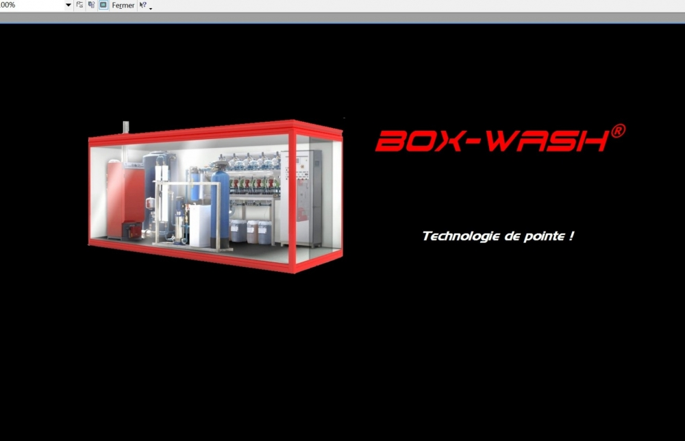 BOX-WASH: technologie pistes HP