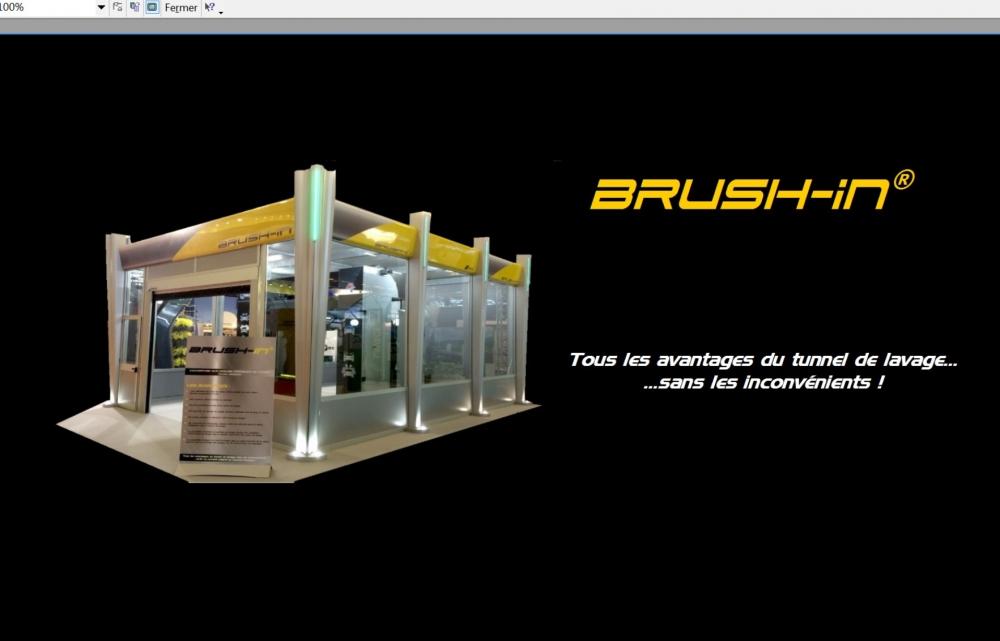 BRUSH-IN: couverture pour portiques de lavage